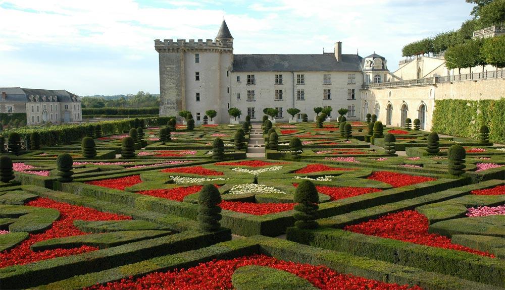 Ch teau et jardins de villandry for Jardin 0 la fran9aise